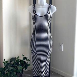 ✨ BEBE long summer casual dress striped